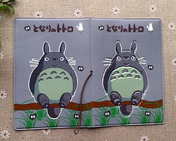 Totoro Passport Holder Passport Cover