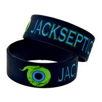 Promo Gift New Arrival 1PC JACKSEPTICEYE Silicone Wristband 1 Wide Band