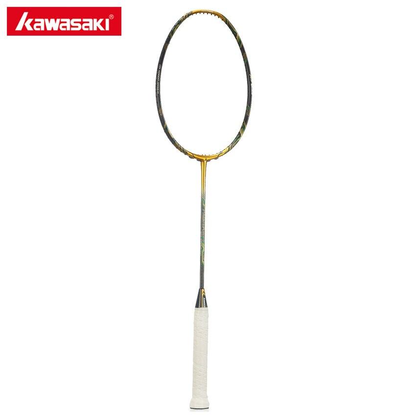 Kawasaki Maître 800II Badminton Raquette 3U 5 Étoiles 46 t 3 DANS 1 Boîte Type Cadre avec Échelle X Technologie professionnel Raquette