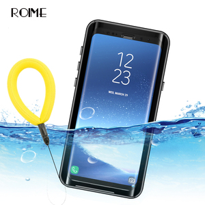 Impermeable funda para Samsung Galaxy S9 S9plus a prueba de golpes a prueba de suciedad funda completa sellada para Samsung S 9 S9 Plus estuche de natación