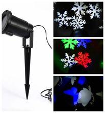 2016 Новый IP65 Водонепроницаемый проектор рождественские огни открытый украшения снег освещение проекции