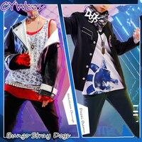 Аниме Косплей бродячие собаки bungo Dazai Osamu Nakahara Chuuya косплей костюм мужские костюмы пальто + рубашка + брюки