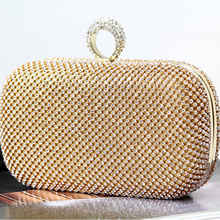 2016 europäischen und Amerikanischen Stil neue mode-design abendessen Tasche handgefertigte ring Ketten taschen Tageskupplungen