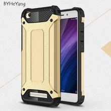 Double couche hybride armure tpu + pc antichoc téléphone case pour xiaomi redmi 4a case pour hongmi redmi 4a armure cas de couverture arrière