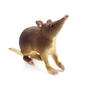 Image 5 - Simulation forest plastic small animal figures model for cute kawaii Cat  Mouse Burmese Opossum Mouse decoration figurines toys