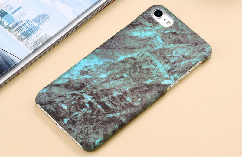 HTB1e3 tPFXXXXcxXXXXq6xXFXXXY - Marble Pattern Phone Case For iPhone 7 5 5s SE 6 6s Plus Smooth Hard Plastic Phone Back Cover Cases For iPhone7 Plus PTC 131
