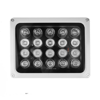 20 LEDs IR Infrared Light Lamp IP65 850nm Waterproof Night Vision Infrared Illuminatoring CCTV Fill Light for Security Camera