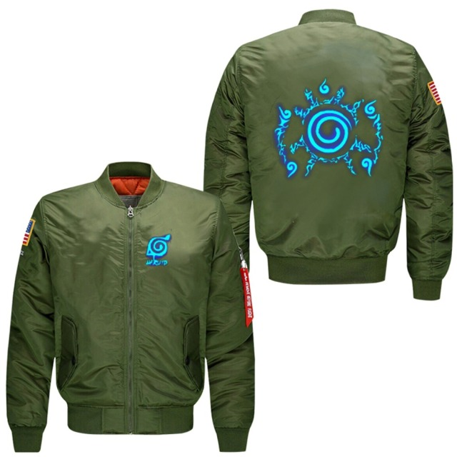 Naruto Seal Bomber Jacket (3 Colors)