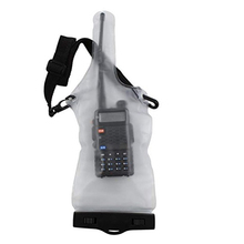 Universal Transparent Waterproof Pouch Bag Case for Motorola Kenwood Midland Radio Walkie Talkie PX