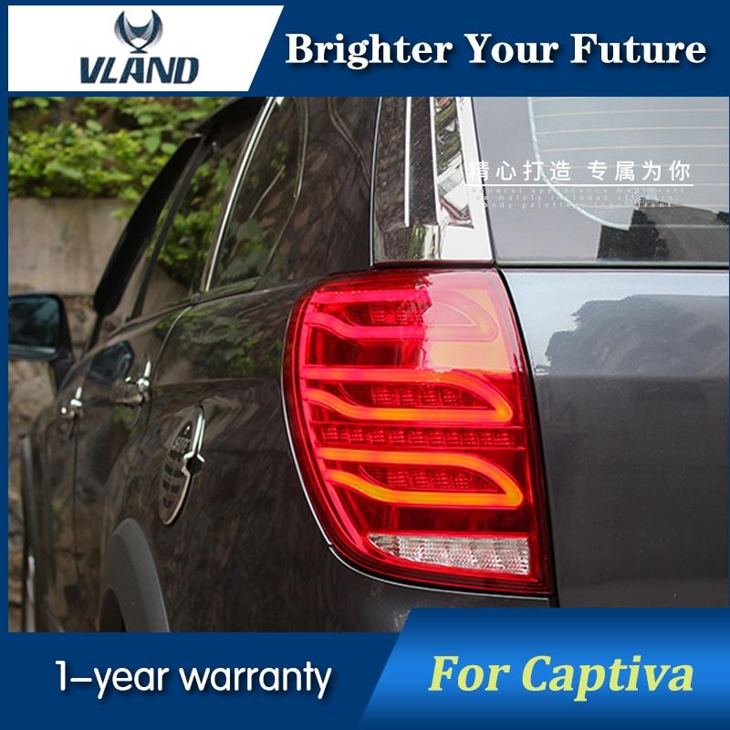 Rear Lights For CHEVROLET Captiva Tail Light 2008 2014 Brake Reversing Tail Lamp Plug and Plug