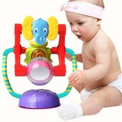 Игрушки для малышей от 0 до 12 месяцев, игрушки-погремушки с колесами Bebek Oyuncak, игрушки для детских колясок, игрушки для активных игр для малыше...