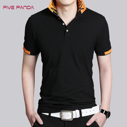 Five panda 2017 new brand quality cotton shirts polo men fashion casual solid shirts tops plus.jpg 250x250
