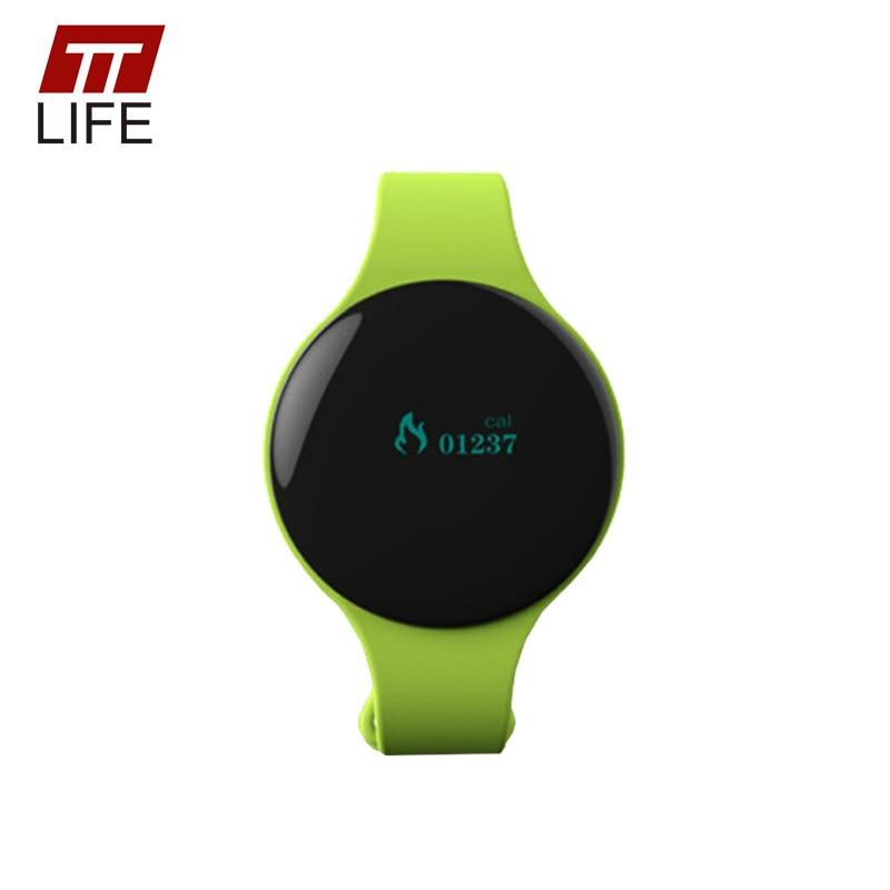 TTLIFE Bluetooth 4.0 Smart Bracelet Step Counter Clock Sport Activity Fitness Tracker Smart Watch Call Remind Smart Wristband