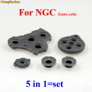 Image 3 - 2 10 Bộ Thay Thế Cho Máy Nintendo GameCube NGC Bộ Điều Khiển Dẫn Điện Nút Silicone Miếng Lót