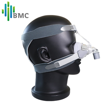 BMC NM4 Nasal Mask CPAP Mask with Headgear and SML 3 Size Silicon Cushion for CPAP Auto CPAP Sleep Snoring Apnea Health & Beauty 2