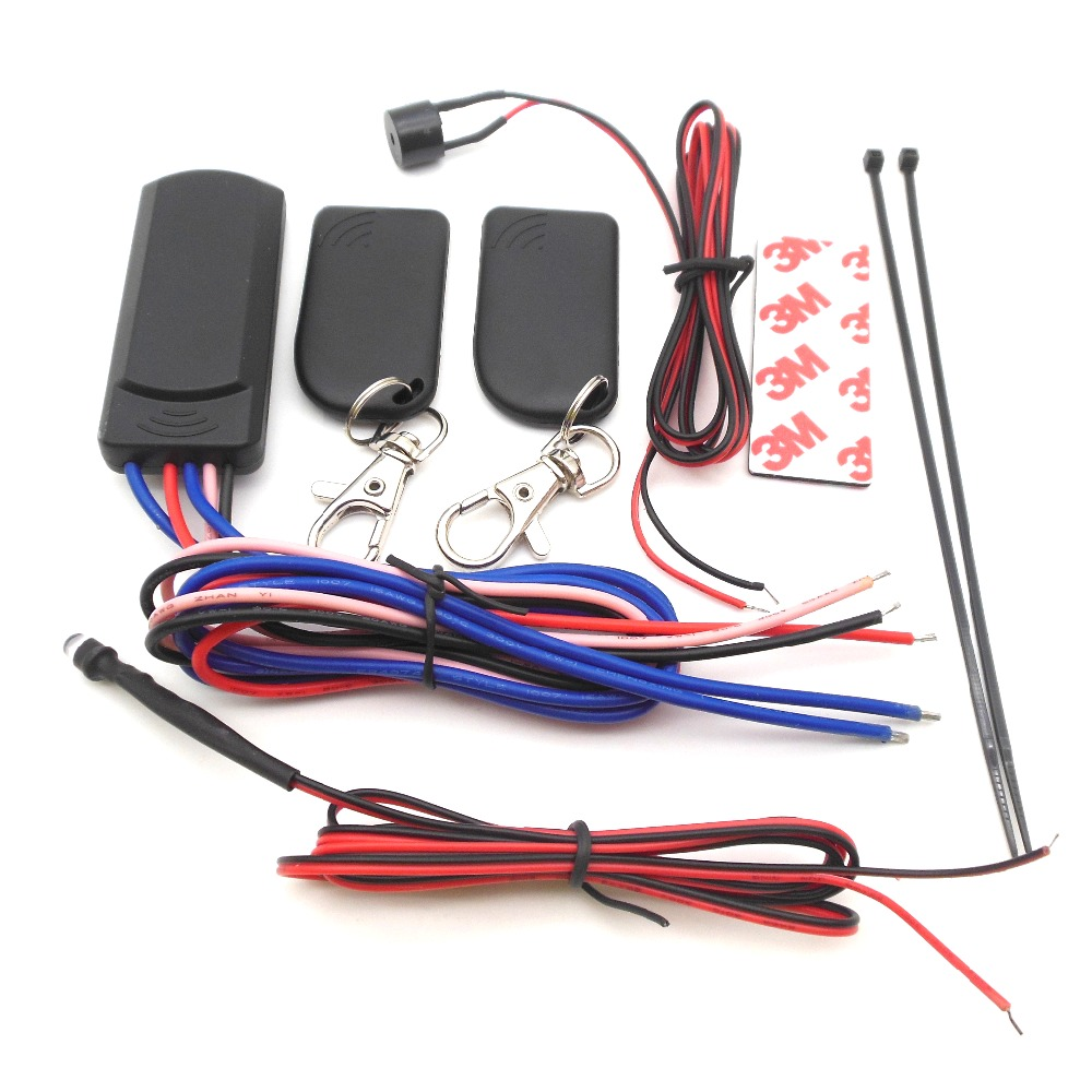 RFID 2.4 GHZ Wireless Car Immobilizer Anti-hijacking On And Off Intelligent Anti-hijacking English Version Free Shipping