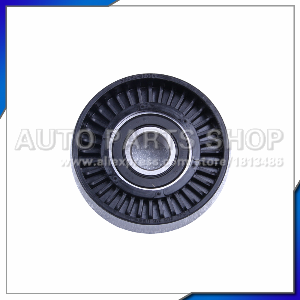 Auto parts metal belt tensioner pulley for mercedes benz for Mercedes benz belt tensioner pulley