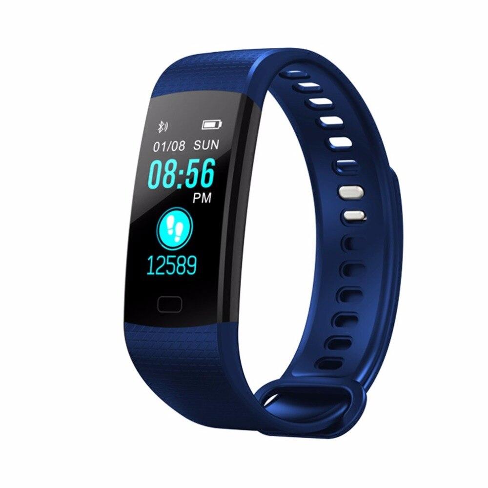 Y5 Smart Uhr Pulsometer Fitness Armband Aktivität Tracker Pedometer Smartband Vibrierende Wecker Gesundheit Schlaf SmartBand A43