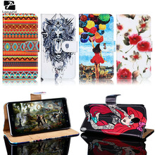 TAOYUNXI PU Leather Phone Case For Lenovo A5000 A 5000 5.0 Inch Case C