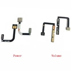 10 pces para zte lâmina v7 bv0701 power on fora interruptor de volume botão lateral chave cabo flexível peças reposição