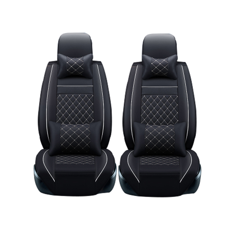 Leather car seat covers For Land Rover Discovery Sport freelander Range Sport Evoque Defender car accessories styling kalaisike plush universal car seat covers for land rover all model rover range evoque sport freelander discovery 3 4 car styling