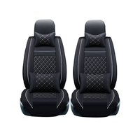 Leather car seat covers For Land Rover Discovery Sport freelander Range Sport Evoque Defender car accessories styling