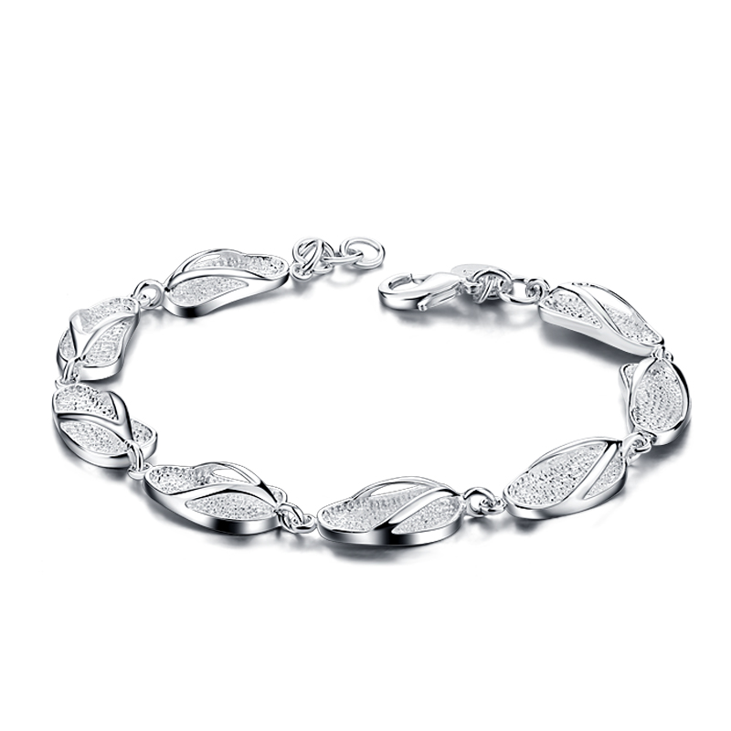 Us 13 18 22 Off Women 925 Pure Silver Bracelet Fashion Personality Shoes Pendant Charm Sterling Female Jewelry Whole In