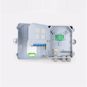 Image 4 - Hoge kwaliteit 8 Core outdoor Fiber Optic Terminal Box 8 port Fiber Optic Verdeelkast glasvezelkabel lade