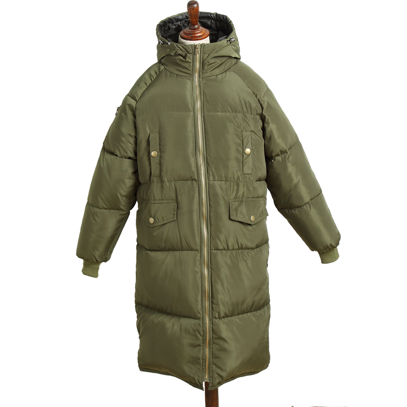 Thickening winter jacket women medium-long winter coat outerwear wadded jacket female cotton-padded jacket parka 0914-59 linenall women parkas loose medium long slanting lapel wadded jacket outerwear female plus size vintage cotton padded jacket ym