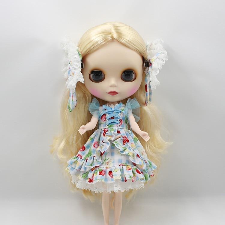 Neo Blythe Doll Butterfly Skirt Dress 10