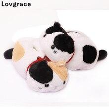 Lovgrace Free Shipping Cute Plush Cat Tissue Box High Quality Napkin Holder Paper Handkerchief Home Car Desktop Organizer