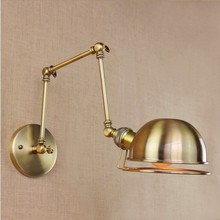 Classic Loft Style Industrial Wall Lamp With Arm Adjustable Edison Wall Light Sconce Arandela Lamparas De Pared retro loft style industrial edison vintage wall light lamp antique iron edison wall sconce lamparas de pared