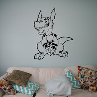 Digimon Dinosaur Wall Decal Vinyl Sticker Japanese Cartoons Housewares Design Anime Manga Kids Children Room Idea