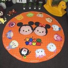 GGS 150cm large size baby play game Cartoon pad Cute baby Climbing mats plush toy mat