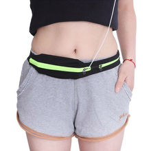 Carrying jogging pack double pocket waist belt mobile running sport portable