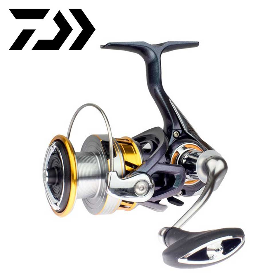 DAIWA Spinning Fishing Reel REGAL LT 9+1BB Spinning Reels 1000D/2000D/2500D/3000D-C 5.2:1/5.3:1  Light And Tough Frame 5-10KG