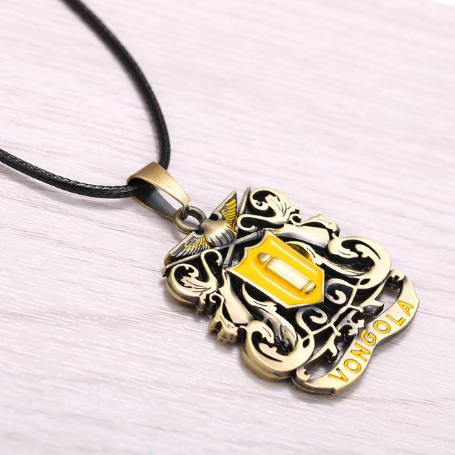 Tutor Pattern Necklace