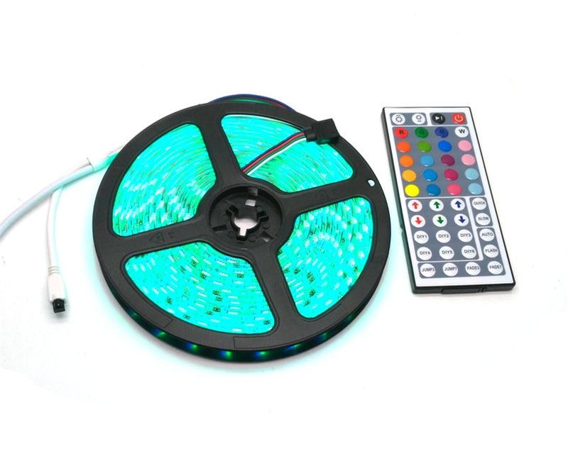 IP65 a prueba de agua 5050 RGB 5M LED Strip Set + 44Keys IR - Iluminación LED - foto 5