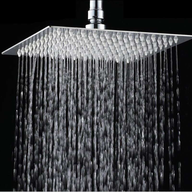 Superior In Quality And Sumptuous 16 Inch Bathroom Faucet Chrome With  Diverter Hot Cold Water Mixer