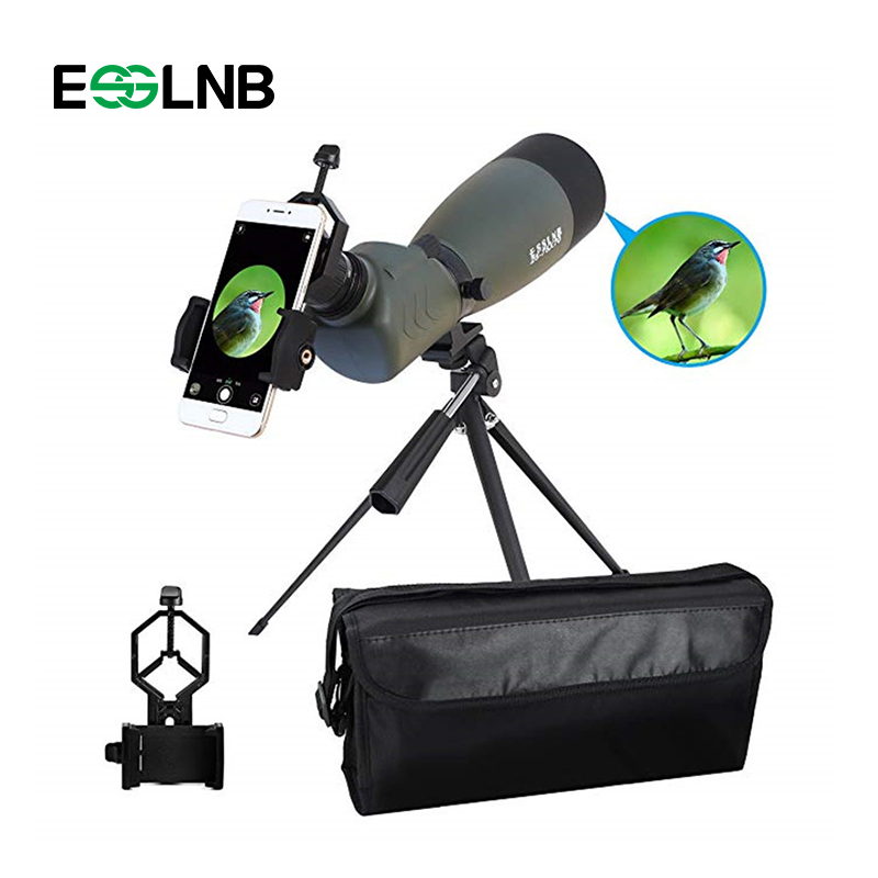 20-75x70 Ad Angolo di 45 Gradi Cannocchiale HD Zoom Telescopio Impermeabile Con BAK4 Prisma FMC Travel Scope Telescopio Monoculare