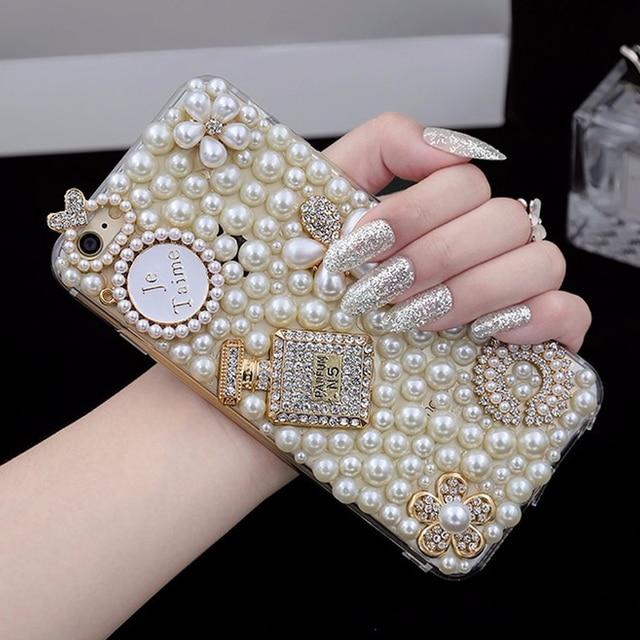 coque iphone 8 perle