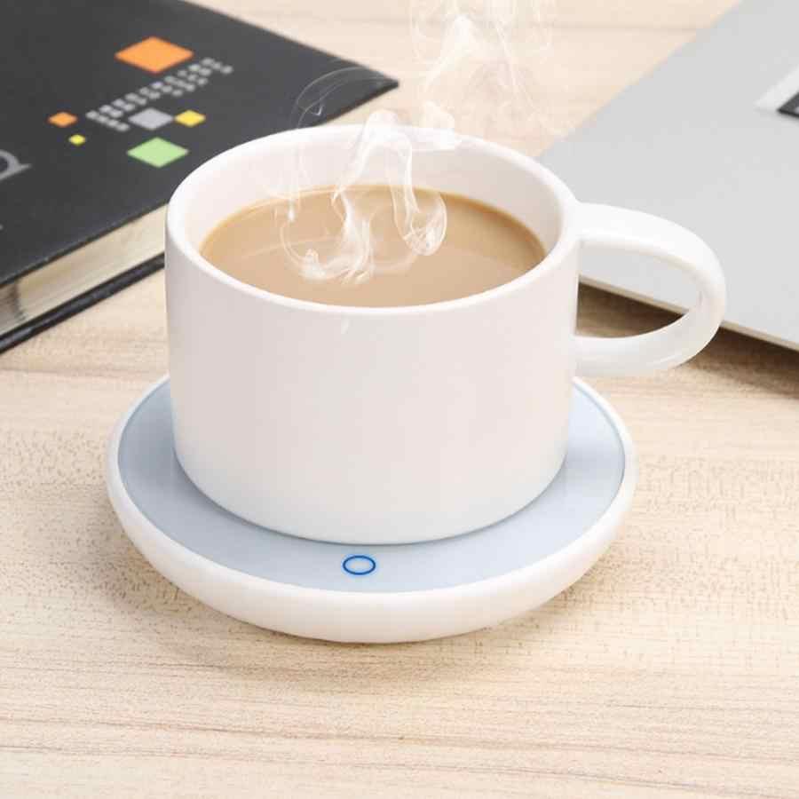 1 pçs copo aquecedor de aquecimento esteira almofada aquecedor para chá café leite em casa escritório caneca mais quente