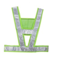 """New type Safety clothes Reflective vest Simple """"V"""" type employee vest"""