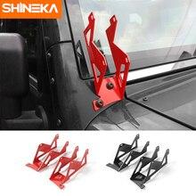 SHINEKA New Arrval Car A-pillars Mounting Brackets Car Accessories for Jeep Wrangler JK