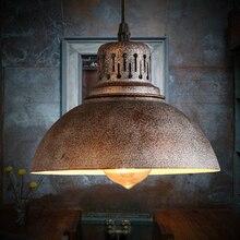 Edison Bulb for free E27 retro pendant lamp vintage droplight iron light industrial Wind Loft design lamp pendant lighting