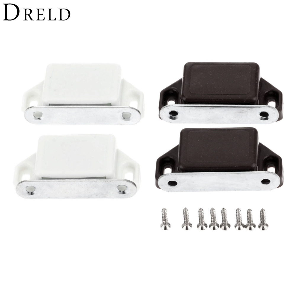 popular kitchen cabinet door latches buy cheap kitchen cabinet dreld 2pcs 57 26mm magnetic door catches kitchen cupboard wardrobe magnetic cabinet latch catches furniture
