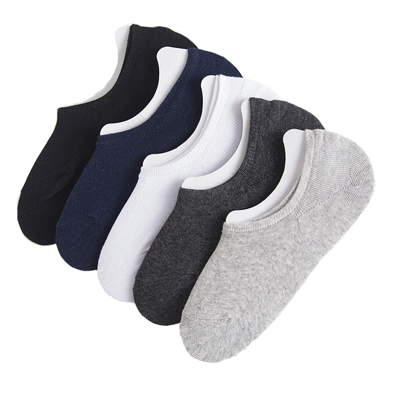 New Fashion Casual Men Socks High Quality Summer Cotton Slippers Socks Brief Invisible Boat Socks men Low Socks Calcetines Mujer