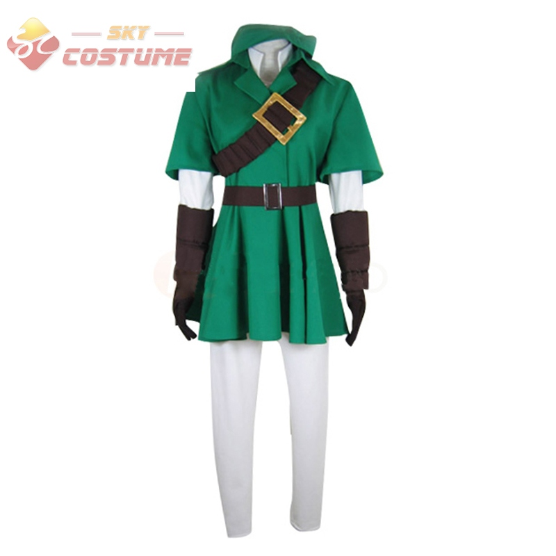 The Legend of Zelda Link Cosplay Costume For Halloween Party New Arrival