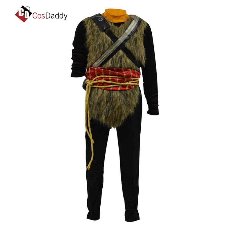 God of War Cosplay costume Character Loki Loptr  Clothes Made any Size Children Men Party Clothes CosDaddy