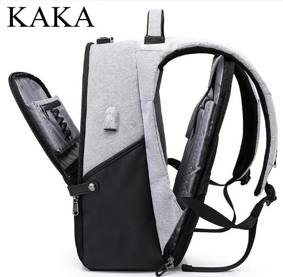 Men Backpack Business Travel Backpack Bag Oxford USB 15.6 Inch Laptop Backpack Shoulder Bag Notebook Rucksack bag Back Pack bag цена